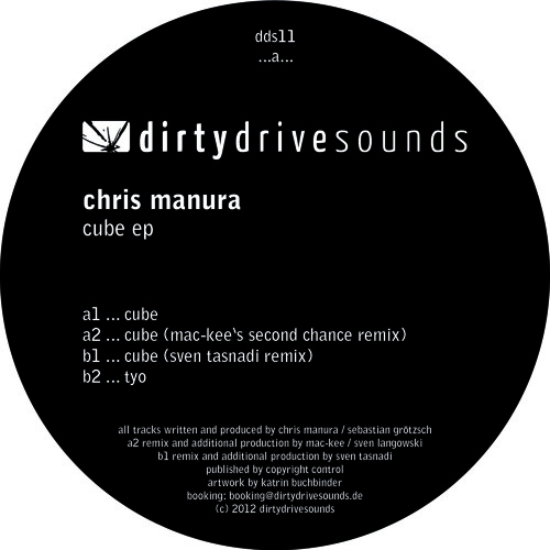 Chris Manura - Cube EP (DDS11)