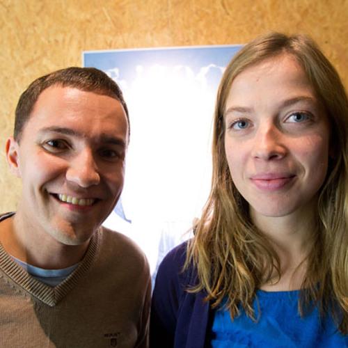 Wille Rydman (kok) sekä Li Andersson (vas) Basson iltapäivässä 18.10.2012