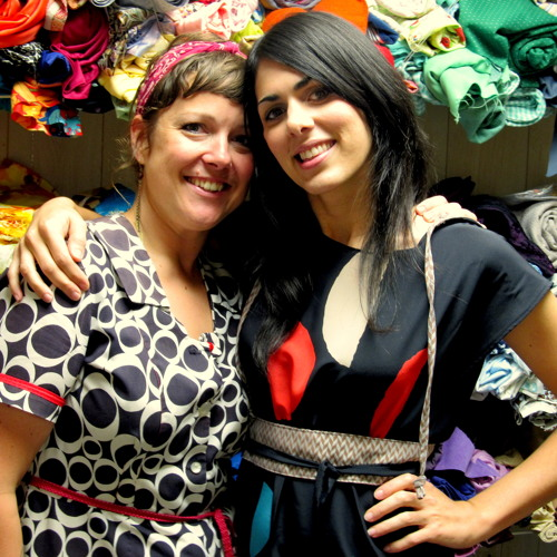 Old Cloth, New Threads: Dressmaking Pair Uses Vintage Materials For New Designs