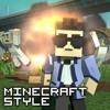 Minecraft Style  - A Parody of PSY's Gangnam Style (Music Video)