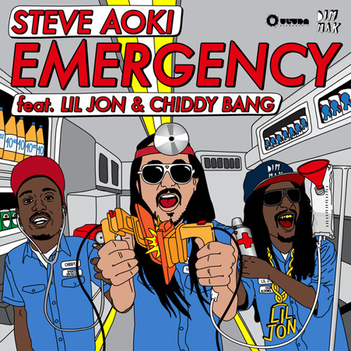 Steve Aoki - Emergency ft. Lil Jon & Chiddy Bang (Laidback Luke Remix)