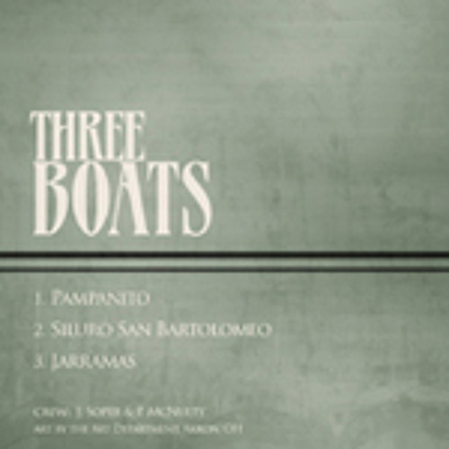 an excerpt from THREE BOATS
