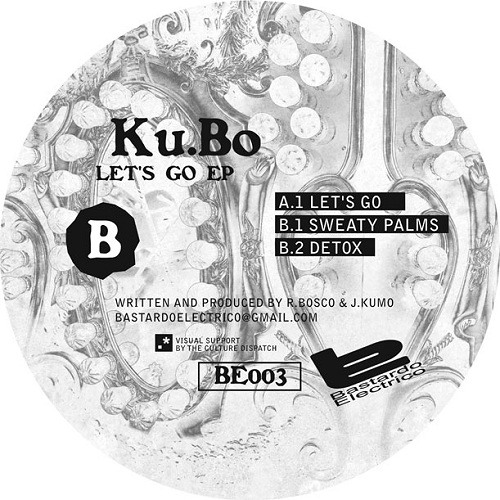 "Ku:Bo Let's Go EP (BE003)  Out Now On 12""Vinyl and Digital Download"