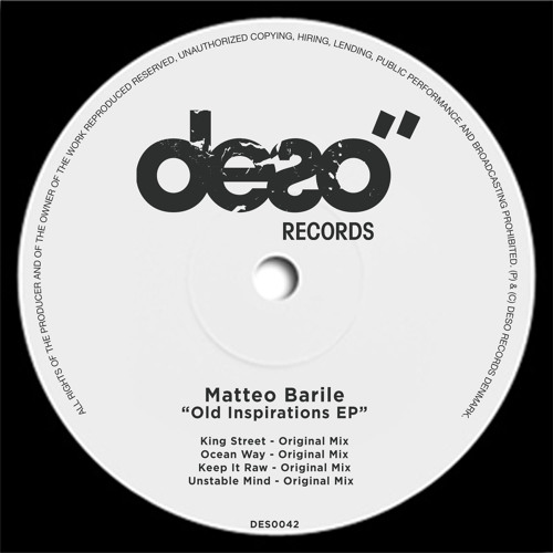 Old Inspirations EP // Deso Records