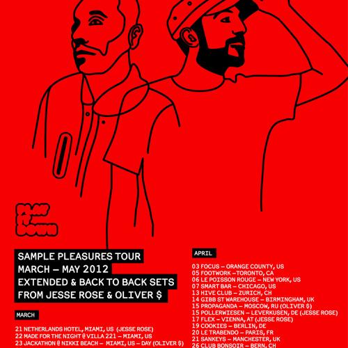 Jesse Rose & Oliver $_Sample Pleasures Mixtape