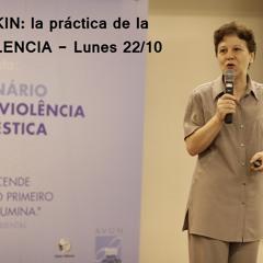 Lia Diskin; Gandhi y la práctica de la No Violencia en America Latina