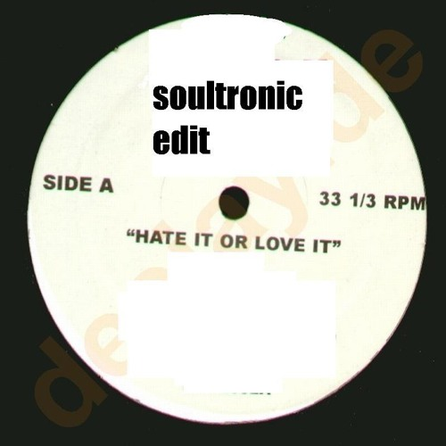 Jary M Plige - Hate it or Love it! (SOULTRONIC EDIT) free DL