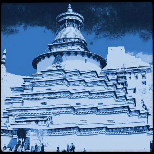 "Lhassa Temple (free Tibet mix) - from the ""Travellin' Light"" LP"