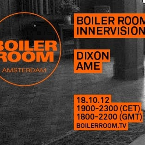 Dixon & Âme 4 hours Boiler Room x Innervisions DJ Set at ADE 2012
