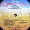 La Sonora Del Caribe 1987 - Felicidad (Alvaro Pava) (LP)