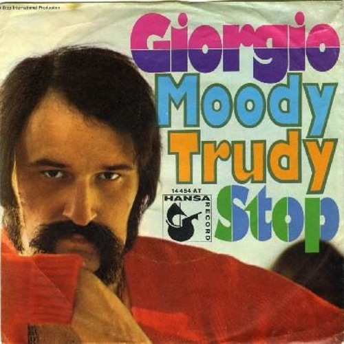 Giorgio Moroder - Stop (rare german version)