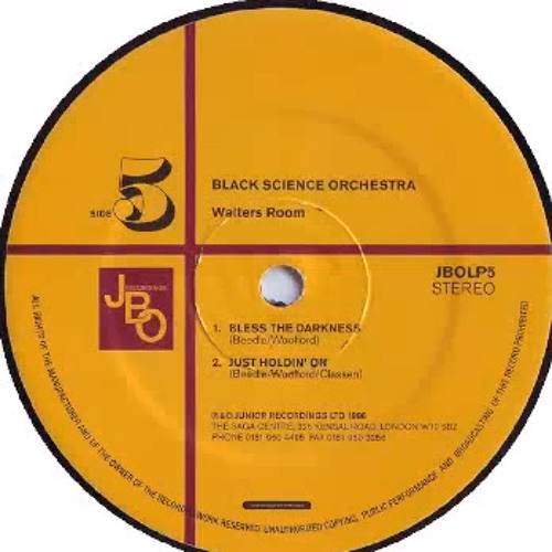 Black Science Orchestra - Bless the darkness (Fulvio Perniola Dark Tribal Dub) (Snippet)