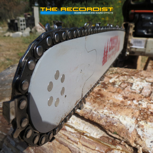 A Chainsaw Close Up And Personal