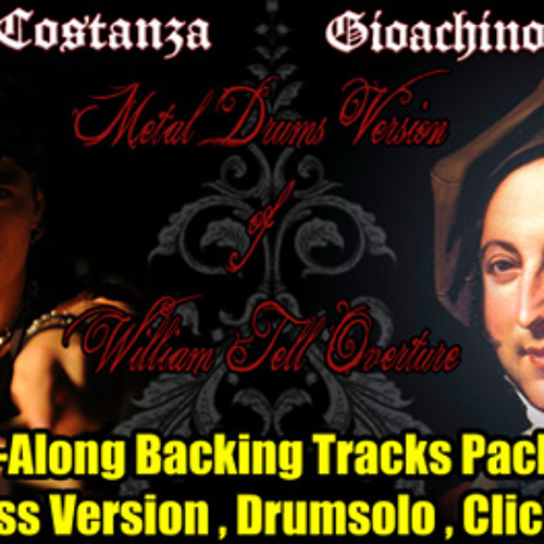 Franky COSTANZA William TELL (ROSSINI) BACKING TRACKS Example