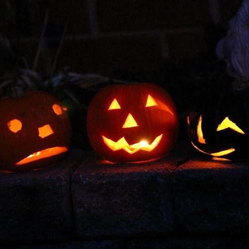 Marching pumpkins - Milana