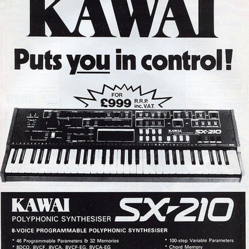 Kawai SX-210 Synth Demo
