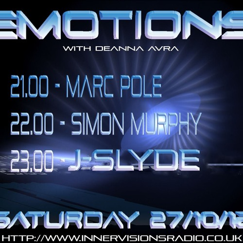 Simon Murphy - Emotions on Innervisions Radio - October '12