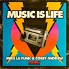 Mike La Funk & Corey Andrews - Music Is Life (Jason Chance Remix) (128k snippet)