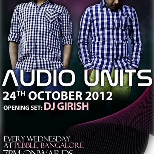 Audio Units @ Pebble // Submerge Deep 24.10.2012 [Live Set]