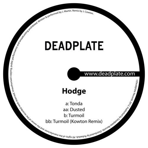 DPL004 Hodge - Dusted EP (clips)