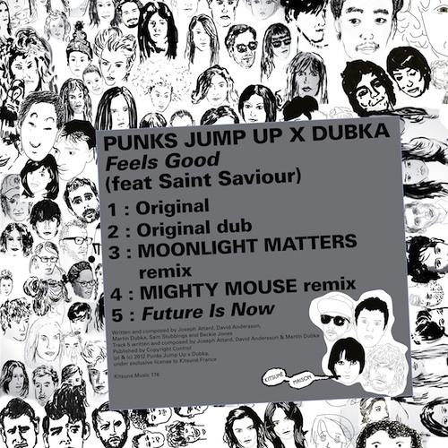 "Punks Jump Up x Dubka - ""Feels Good"" (feat. Saint Saviour) (Moonlight Matters dub version)"
