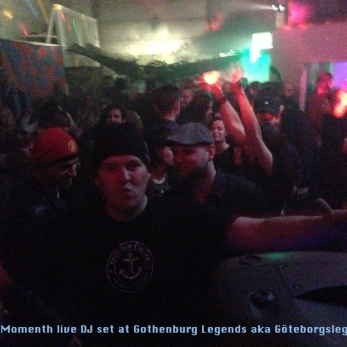 Hakan Momenth - Live Dj set at Gothenburg Legends Party 2012-10-13