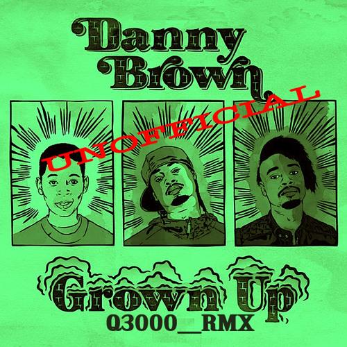 Danny Brown GrownUp  unofficial_Q3000_Remix