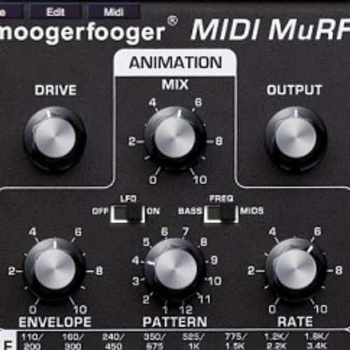 VST Moog MuRF Controller+Free VST Minimogue VA by