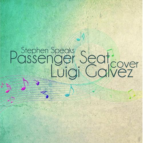 Passenger Seat (Stephen Speaks) Cover - Luigi Galvez
