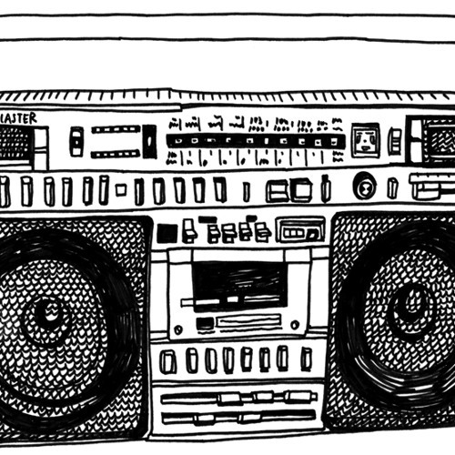 Alright the Ghettoblaster