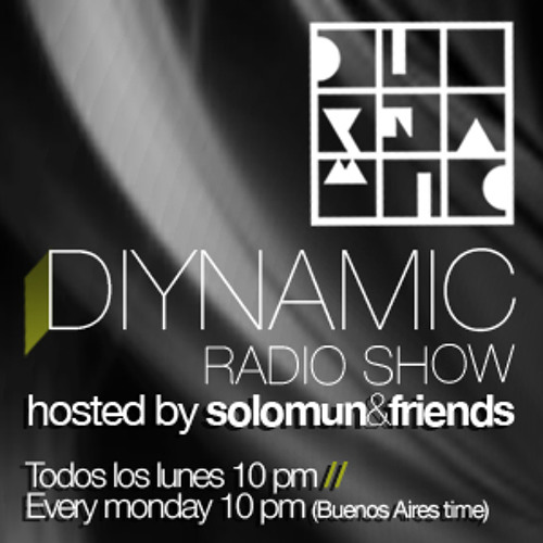 Diynamic Radio Show- Uner (8/10/2012)