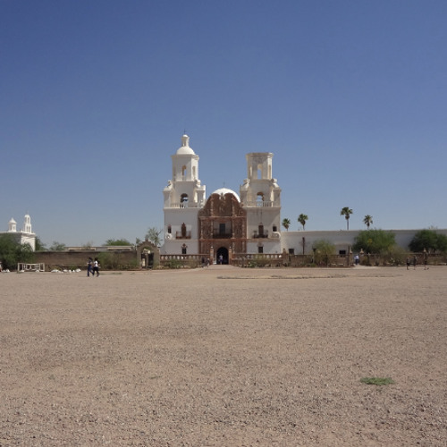 Mission San Xavier - from the Tucson episode