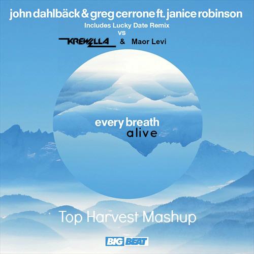 John Dahlback & Greg Cerrone vs Krewella ft. Lucky Date & Maor Levi - Alive Every Breath (TH Mash)