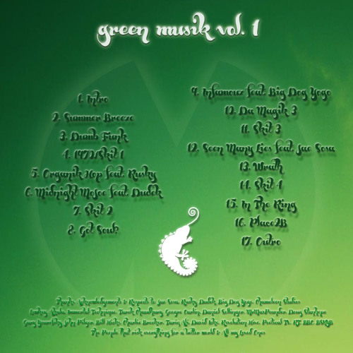 Green Musik Vol. 1 (The Mixtape) ***FREE DL IN DESCRIPTION***