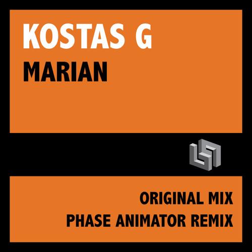 Kostas G - Marian (Original Mix) - OUT NOW