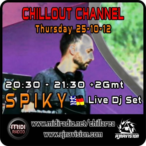 Spiky (Ajnavision Records Day) @ Midiradio.net 25.10.12