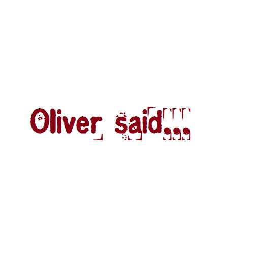 Oliver said...