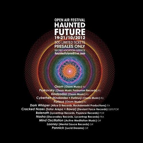 Pannick @ Haunted Future Festival 2012