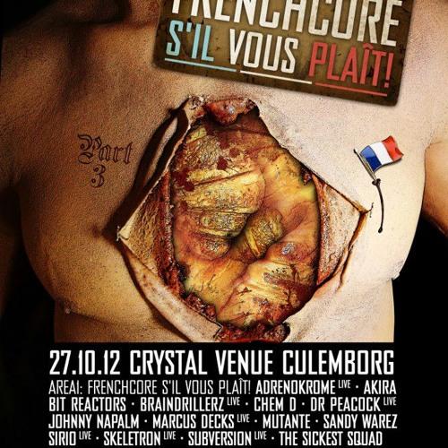 Johnny Napalm @ Frenchcore S'il Vous Plaît! Part 3 (27-10-2012, Crystal Venue Culemborg)