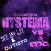 Datamotion Hysteria vs David Guetta - She Wolf  (Sandro Silva Remix)   Deejay Lay & Dj Ticto Mashup