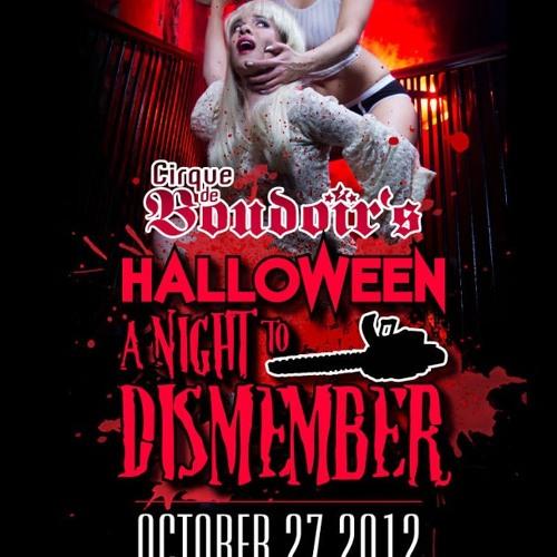 DJ Omni @ Cirque de Boudoir's Halloween 2012