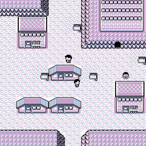 Lavender Town - Pokemon Blue and Red