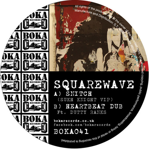 SQUAREWAVE - HEARTBEAT DUB (feat. Dutty Ranks)