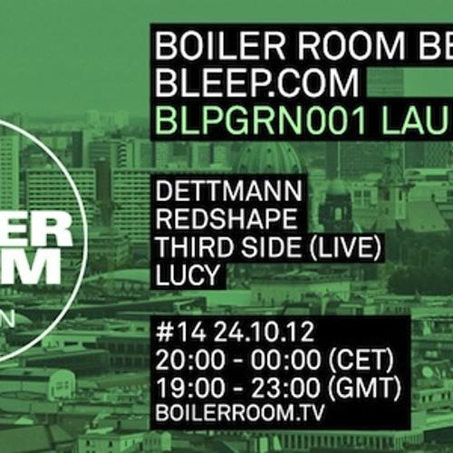 Redshape live in the Boiler Room Berlin