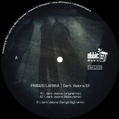 Preview AMCLR02 - Fabrizio Lapiana: Dark Visions EP (incl. Giorgio Gigli and Ness remixes)