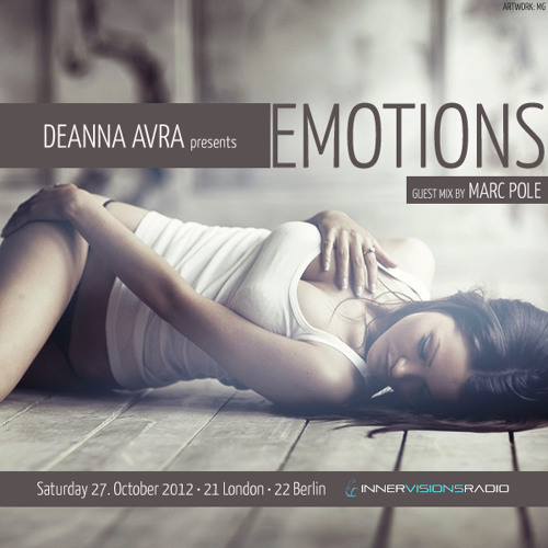 Guest Mix for Deanna Avras Emotions on Innervisions Radio
