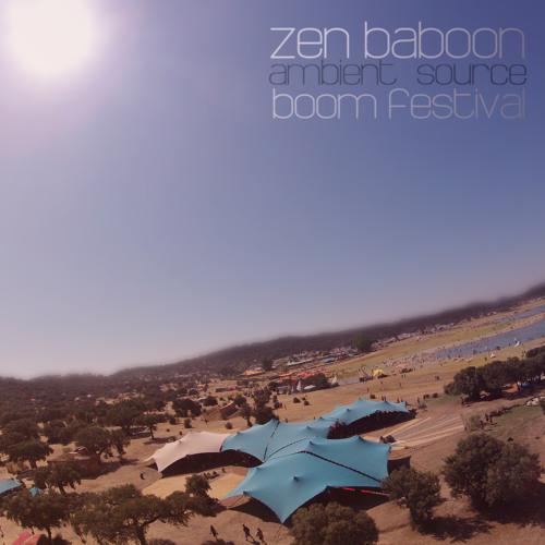henriq (Zen Baboon) - Live @ BoomFestival 2012 - Ambient Source
