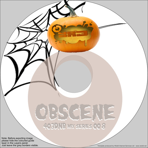 OBSCENE - 403DNB MIX SERIES #08 ( HALLOWEEN EDITION )