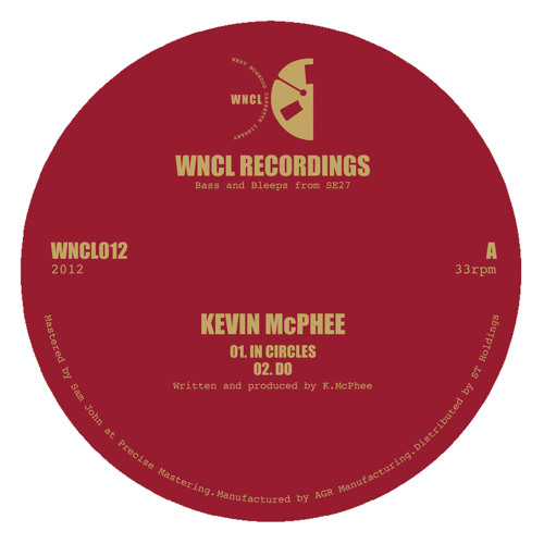 WNCL012: KEVIN McPHEE_4 Track EP