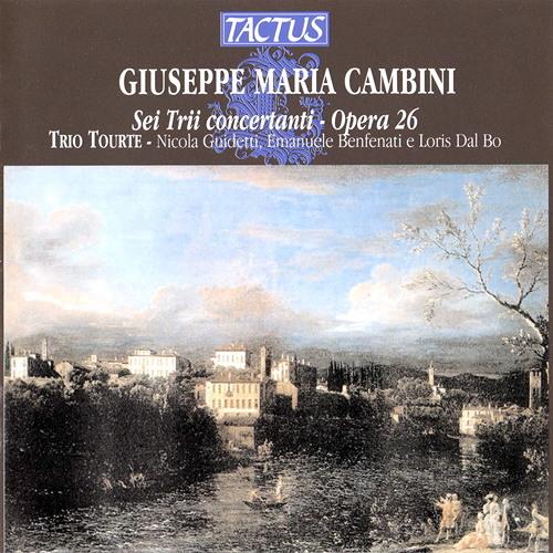 Giuseppe Maria Cambini: Trio VI in Re maggiore - Allegro - Minuetto grazioso e con gusto